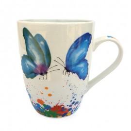 Cana ceramica - fluturi