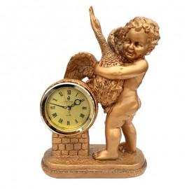 Statueta copil cu ceas
