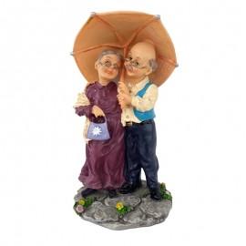Mos si baba cu umbrela