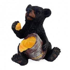 Urs cu miere (15 cm)