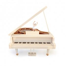 Cutie muzicala - pian cu balerina