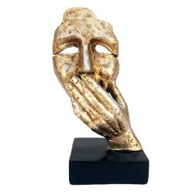 Statueta chip - gura acoperita