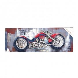 Tablou cu motocicleta 3D