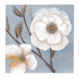 Pictura - flori sau fata