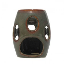 Candela ceramica - ovaluri