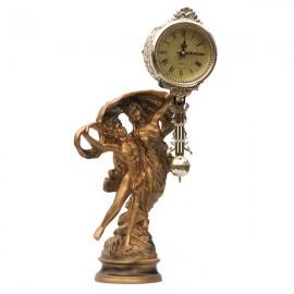 Statueta cu ceas si pendul