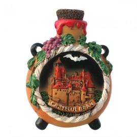 Magnet - Butelcuta Castelul Bran