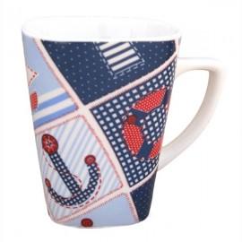Cana ceramica albastra