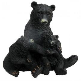 Urs cu pui (11 cm)