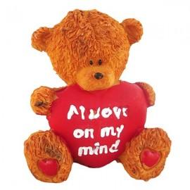 Ursulet cu mesaje de dragoste (7 cm)