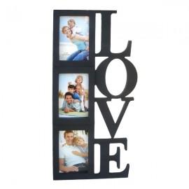 Rama colaj - Love - 3 fotografii