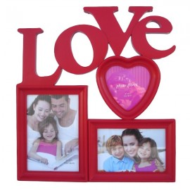 Rama cu inima si scris love (35 cm)
