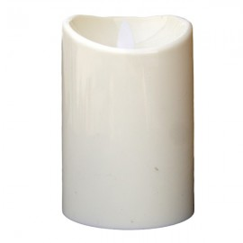 Lumanare cilindrica din plastic
