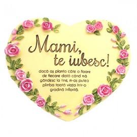 Inima cu text pentru mama