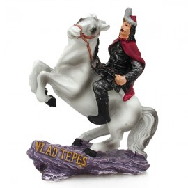 Statueta - Tepes pe cal