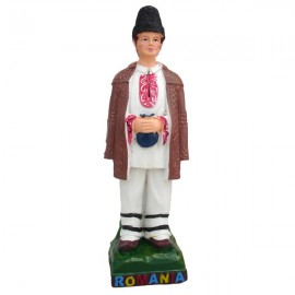 Fata si baiat in costun traditional (20 cm)