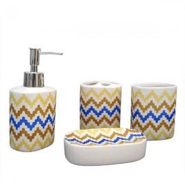 Set ceramica baie cu 4 piese