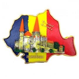 Aplica harta cu tricolor - Hunedoara