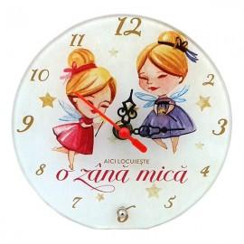 Ceas sticla copii - fete (20 cm)