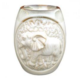 Candela ceramica cu elefant