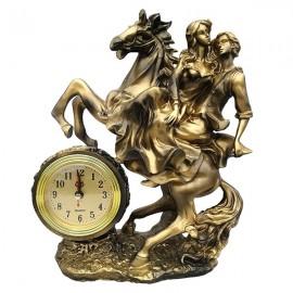 Cuplu calare cu ceas