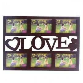 Rama colaj - Love - 6 fotografii