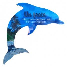 Magnet delfin - frate