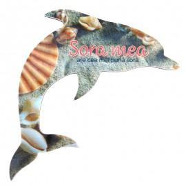 Magnet delfin - sora