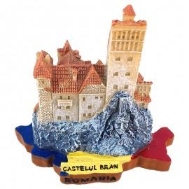 Macheta harta - Castelul Bran