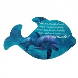 Magnet balena cu maxime